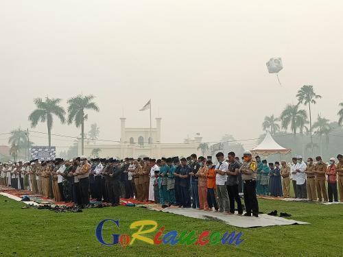 Asap Masih Tebal, Pembukaan Tour de Siak Pindah ke Gedung Daerah