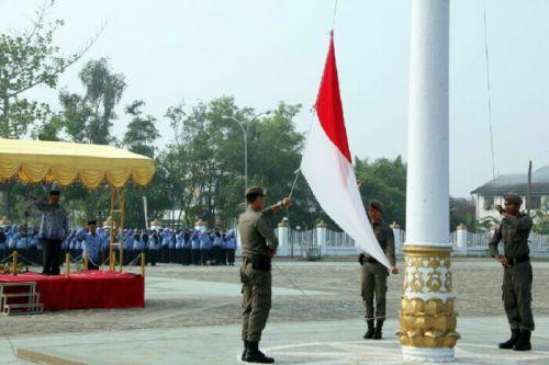 Jadi Irup 17 Bulan, Wabup Inhil: PNS Harus Sadar Tugas dan Tanggung Jawab sebagai Pelayan Masyarakat