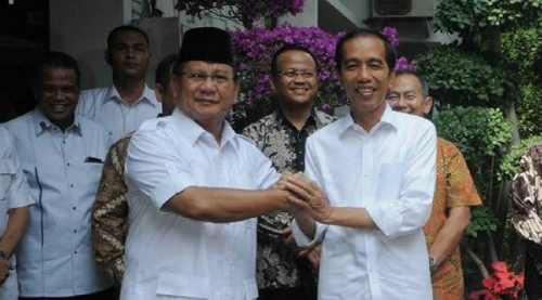 Usai Bertemu Jokowi, Prabowo: Beliau Pernah Rival Saya, Tapi Kami Tetap Bersahabat