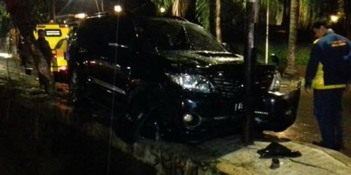 Kokoh Luar Biasa, Tiang Listrik yang Ditabrak Mobil Setya Novanto Tak Rusak
