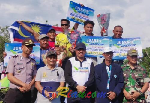 Ketua Dewan Kecewa tak Satupun Tim Dayung Siak Masuk Semi Final SISBR 2019