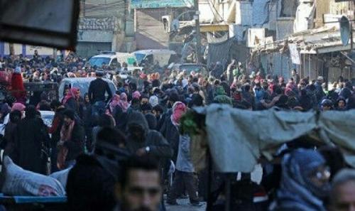 Ribuan Warga London Turun ke Jalan Protes Pembiaran Krisis Kemanusiaan di Aleppo
