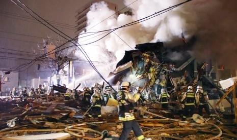 Ledakan Besar Hancurkan Restoran di Jepang, 42 Orang Terluka