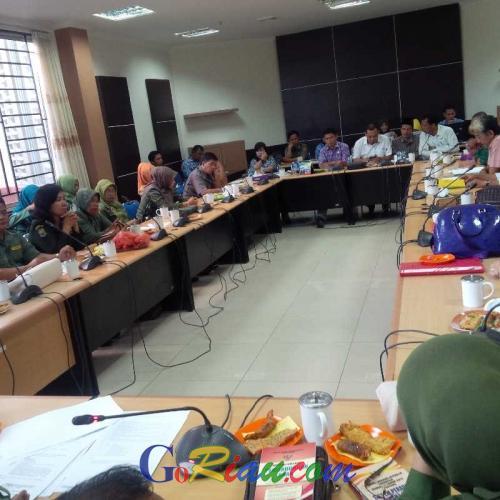 5 Siswa Dikeluarkan dari Sekolah karena Bawa Minuman Keras, Komisi IV DPRD Inhil Gelar RDP