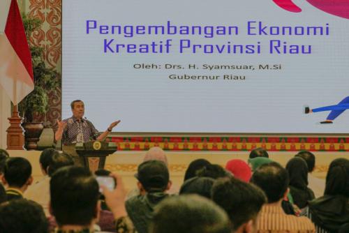 Gubri: Produk UMKM dan Ekonomi Kreatif di Riau Harus Bisa Tembus Internasional