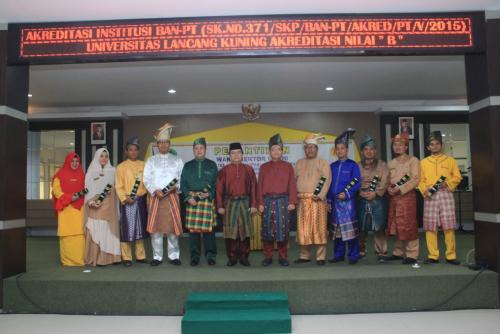 Tiga Wakil Rektor dan Dua Dekan Unilak Dilantik
