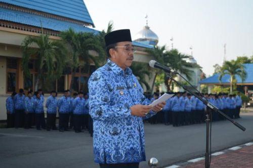 Sukseskan Pemilu 2014, Bupati Ajak PNS Dukung 13 Instruksi Presiden