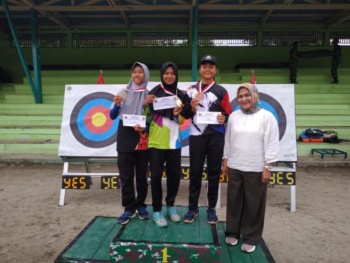 Atlet Panah Siak Raih 12 Medali di Wirabraja Open 2019