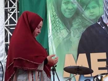 Konser Peduli Palestina 2 Jam, Melly Goeslaw Berhasil Kumpulkan Donasi Rp361 Juta