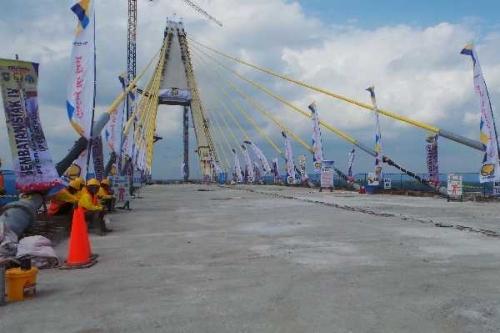 Hari Ini, Jembatan Marhum Bukit akan Dibuka untuk Umum