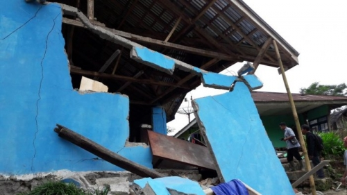 Gempa pada Kedalaman 4 Kilometer Guncang Banjarnegara, Satu Tewas dan 500 Jiwa Terpaksa Mengungsi