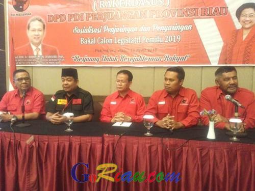 Resmi Dicopot Sebagai Ketua DPD PDIP Provinsi Riau, Kordias Pasaribu: Tidak Akan Mengurangi Loyalitas Saya Sebagai Kader Partai