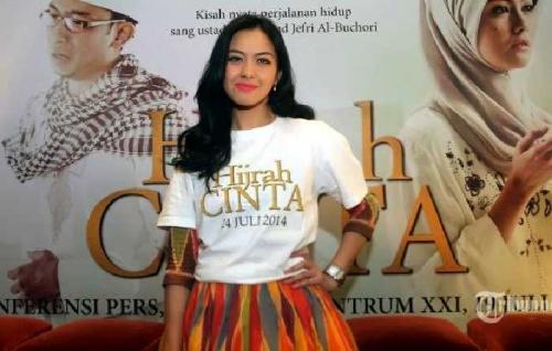 Artis Cantik Revalina S Temat, Jadi Incaran Sutradara Film Kisah Hafiz Cilik Syekh Abdul Rasyid