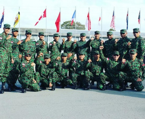 Lagi, TNI Sikat Emas dan Pecundangi Tentara AS di Lomba Menembak Internasional