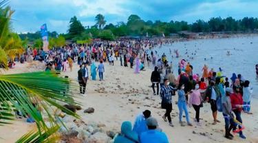 Viral Kerumunan Orang di Objek Wisata Riau saat Pandemi Covid-19, Kebijakan Terkesan Setengah Hati