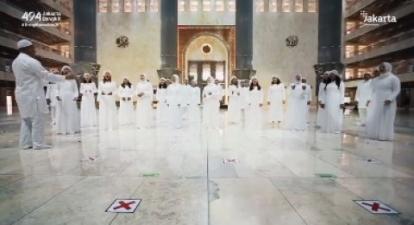 Paduan Suara di Masjid Istiqlal, Warganet: Sangat Tidak Pantas, Ini Bukan Lagi Toleransi