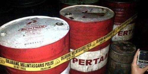 Timbun BBM Bersubsidi, Puluhan Orang di Riau Diciduk Polisi
