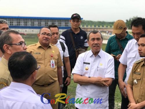 Gubernur Riau Berharap Air Bersih dari SPAM Durolis Bisa Segera Dinikmati Masyarakat