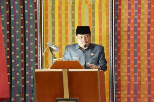 Bupati Bengkalis Sampaikan LKPj 2018, Berikut Capaian Kinerjanya