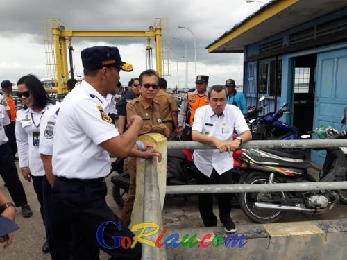 Masih Ada Fasilitas Pendukung yang Harus Dilengkapi di Penyeberangan Roro Dumai - Malaysia