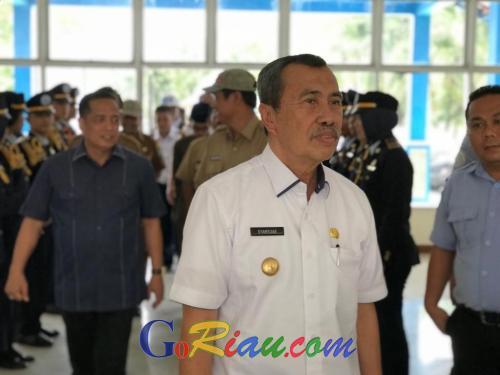 Gubernur Riau Sarankan ASN Transit Lewat Malaysia Jika ke Jakarta