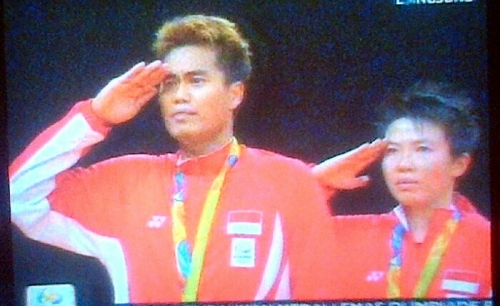 Tontowi/Liliyana Sumbang Emas Pertama buat Indonesia