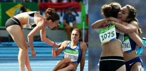 Momen Langka Menyentuh Jiwa, Pelari Putri Selandia Baru Berhenti di Tengah Lomba untuk Bantu Atlet AS yang Terjatuh, Ini Penampakannya