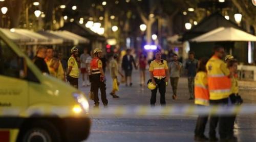 Teror Van di Barcelona, 13 Tewas dan 100 Terluka, Polisi Tembak 4 Pelaku