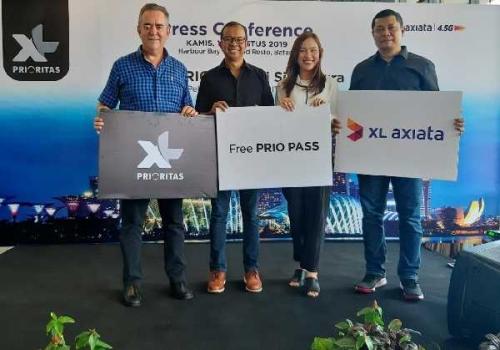Khusus Pelanggan Medan dan Batam, Gratis XL PRIO Pass Selama di Malaysia dan Singapura