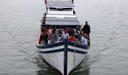 KM Mina Sejati Dibajak 3 ABK-nya, 2 Penumpang Tewas karena Mencebur ke Laut, 18 Belum Diketahui Nasibnya