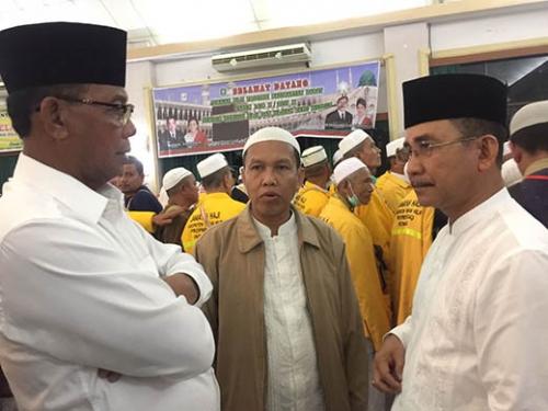 Jemaah Haji Asal Rohil Sudah Tiba di Debarkasi Batam