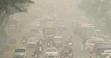 Kata Wiranto, Kebakaran Hutan di Riau Tak Separah Diberitakan, Awan Masih Terlihat