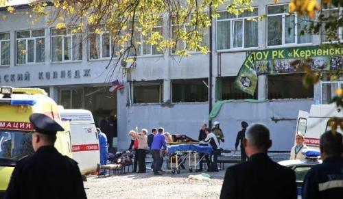 Mahasiswa Lakukan Penembakan Brutal dalam Kampus di Crimea, 19 Orang Tewas