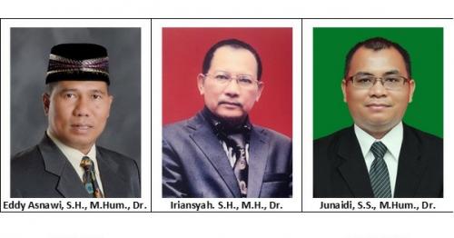 Ini Nama-Nama Calon Rektor Unilak Periode 2019-2023