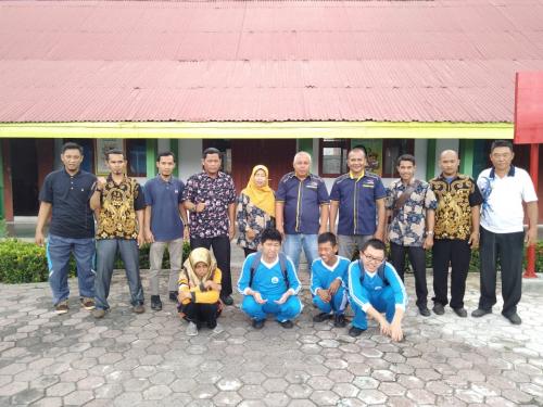 Jaring Atlet Difabel Berpotensi, NPC Kepulauan Meranti Kunjungi SLB Selatpanjang