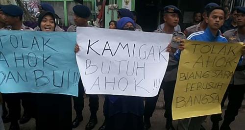 Kampanye Ahok Ditolak Dimana-mana... Polisi dan Bawaslu Tak Berdaya Menghalangi