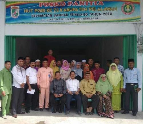 Puncak HUT PGRI 2018 Kabupaten Pelalawan Akan Diperingati di Bandar Sei Kijang