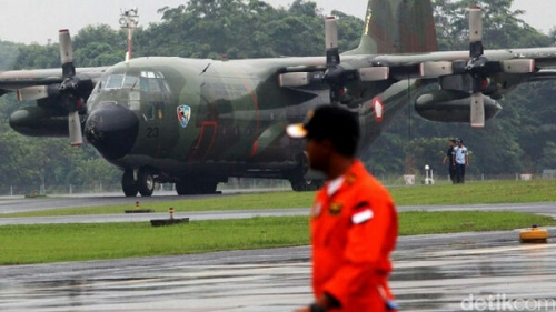Pesawat Hercules TNI AU yang Jatuh di Wamena Dipiloti Mayor Marlon A Kawer