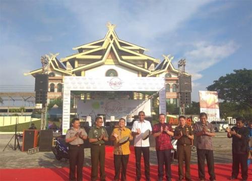 Diikuti 105 Stand Kerajinan dan Kuliner, Ruang Kita Festival 2018 di Riau Jadi Iven Paling Diminati Pekan Ini