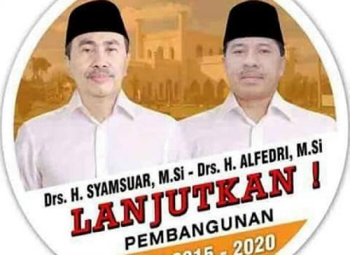 Pelantikan Syamsuar-Alfedri Sebagai Bupati dan Wakil Bupati Siak Terpilih, Tunggu Keputusan Mendagri