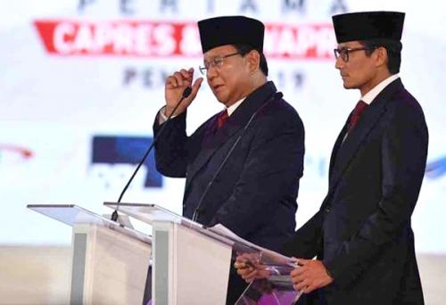 Tampil Kompak, Prabowo - Sandiaga Dinilai Paling Cocok Pimpin Indonesia
