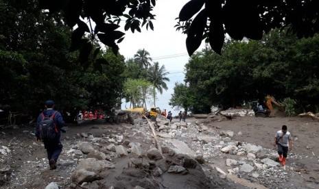 Banjir Bandang Terjang Malalo, Pemkab Tanah Datar Tetapkan Tanggap Darurat Sepekan