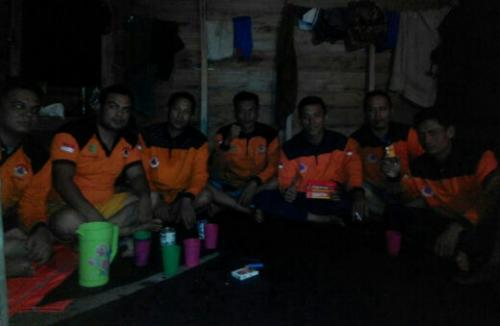 Gara-gara Karhutla, Sudah 7 Hari Personil BPBD Kepulauan Meranti Nginap di Hutan