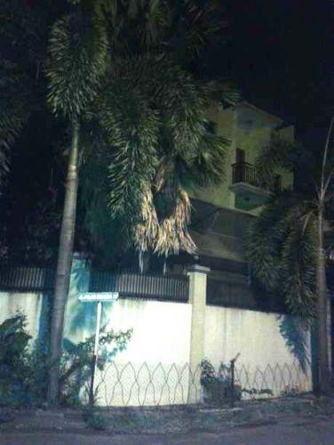 Pengamanan Rumah Rusli Zainal di Kembangan Tampak Mencolok