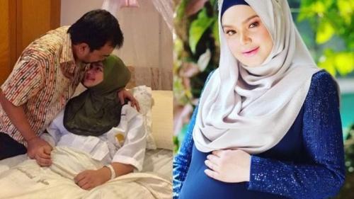 Ini Alasan Siti Nurhaliza Pilih Hari Senin Operasi Caesar