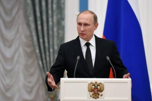 Vladimir Putin Kembali Terpilih Jadi Presiden Rusia