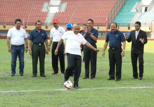 Masih Berutang Ratusan Miliar, Pelunasan Stadion Utama Riau Tunggu APBD-P 2017