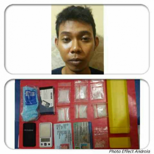 Jadi BD, Seorang Mahasiswa Diamankan Polda Riau Bersama Sabu Senilai 25 Juta