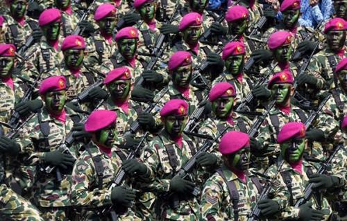 Marinir Siap Dukung Polisi Perangi Teroris