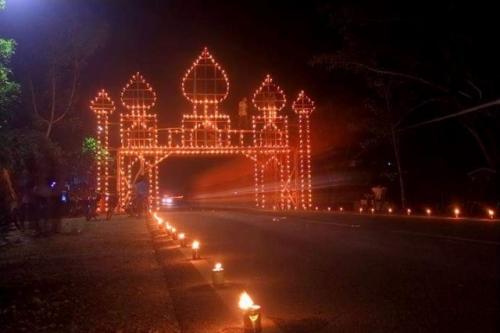 Disparpora Kepulauan Meranti Gelar Festival Lampu Colok